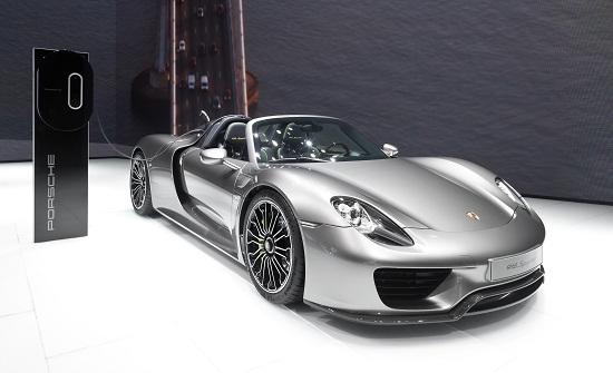 Porsche 918 Spyder - wikipedia.org